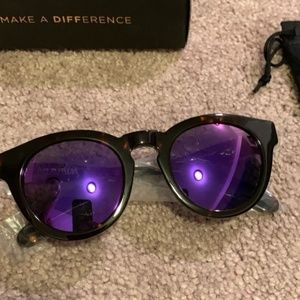 Diff Eyewear Dime II Purple Tortoise Frames-NEW!!